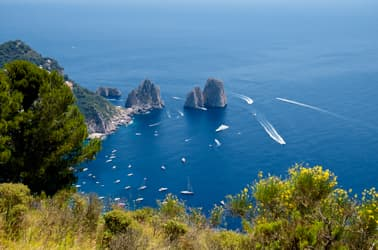 Escurisioni in mare - Capri Blue Boats